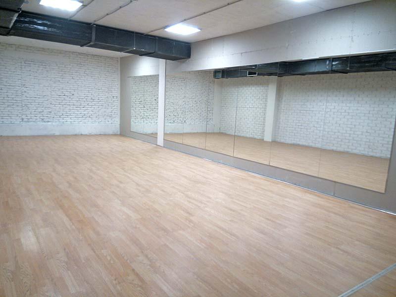 Спорт зал: 63 м2